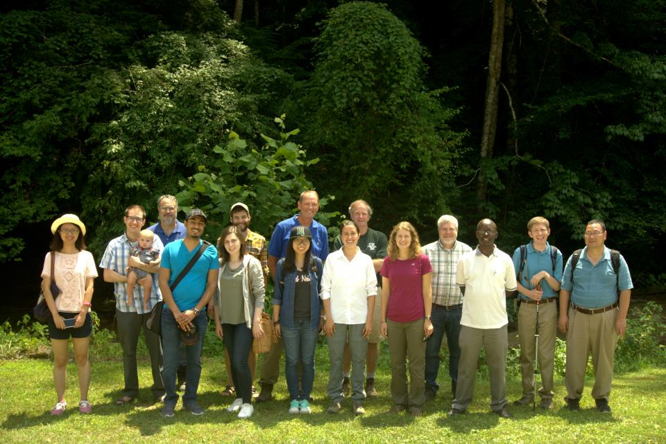 Image of the FHC team from a retreat